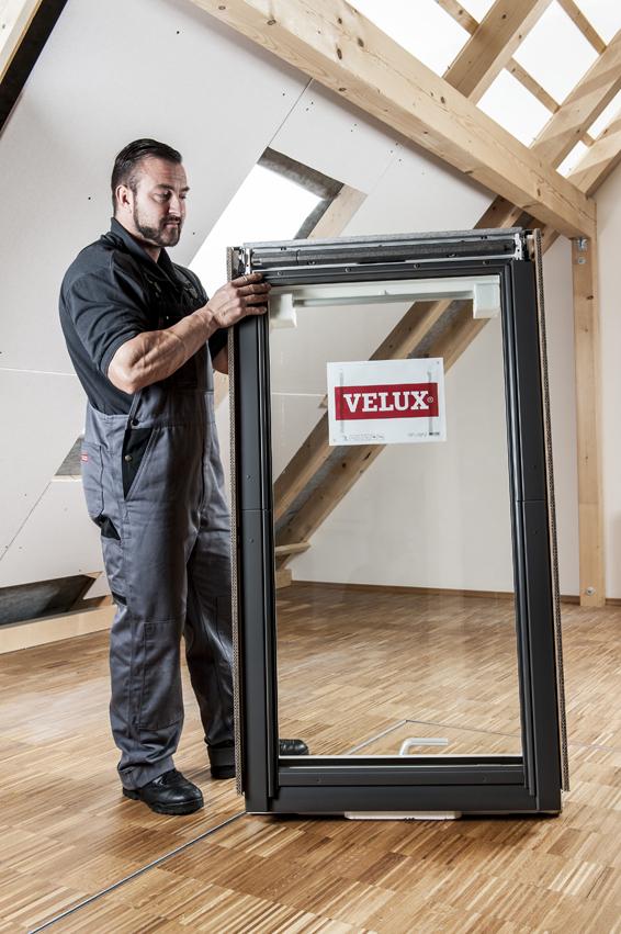 Frisch Anleitung: Velux Dachfenster selber einbauen VV09