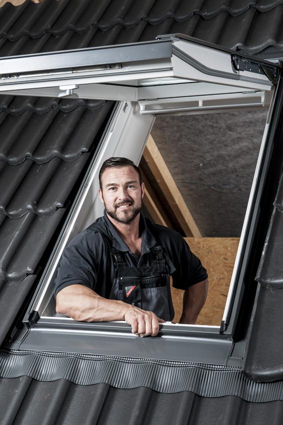 anleitung velux dachfenster selber einbauen. Black Bedroom Furniture Sets. Home Design Ideas