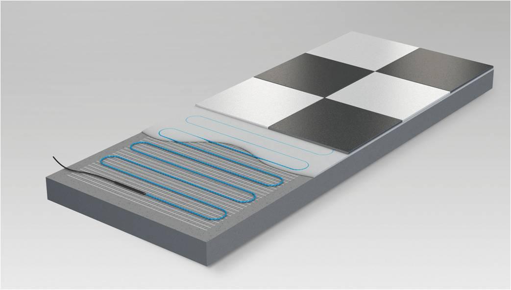Elektrische Fußbodenheizung richtig verlegen