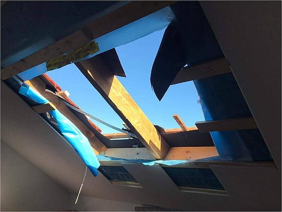 Bekannt Anleitung zum Einbauen von Dachfenstern JP38