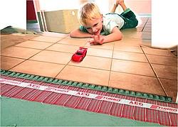 Stromverbrauch einer elektrischen Fußbodenheizung berechnen