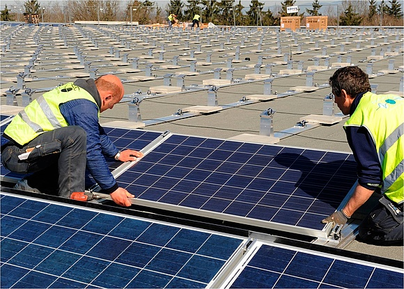 Ratgeber aufst nderung von solaranlagen for Klimaanlage dachmontage