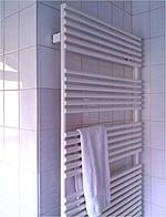 Elektrische Handtuchheizkörper fürs Bad