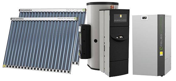 Pellet-Solar-Heizung: Technik, Kosten & Komplettpakete