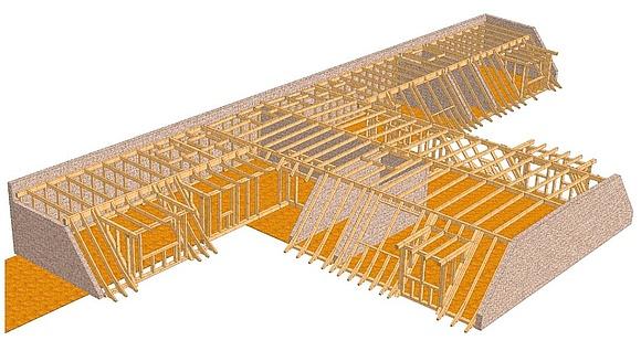 Berliner Dach Konstruktion Ausbau Sanierung