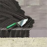 Bitumendickbeschichtung Von Kellerwanden