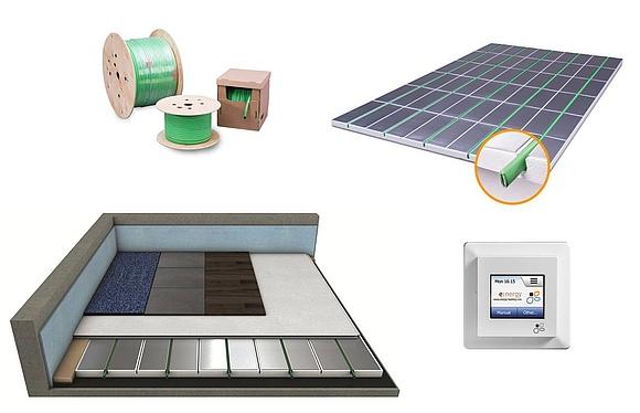 Elektrische Fußbodenheizung: Technik, Kosten & Verlegung