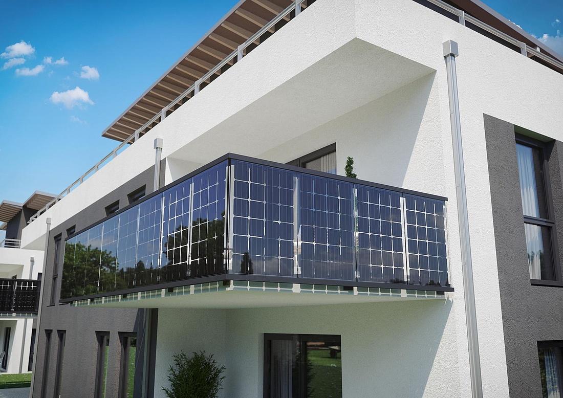 Balkon-Solaranlage: E-Technik, Vorschriften & Preise
