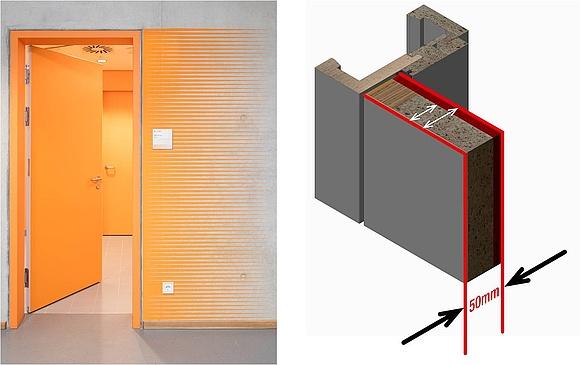 ratgeber brandschutzt ren baurecht und technik. Black Bedroom Furniture Sets. Home Design Ideas