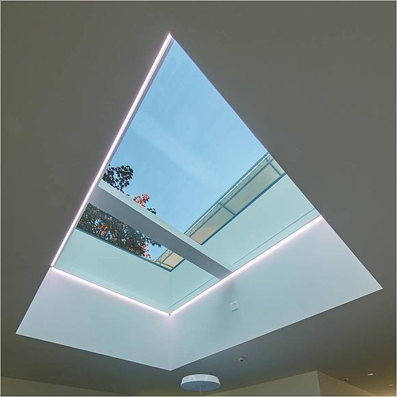 Favorit Lichtband-Gestaltung in Dach und Fassade OJ46