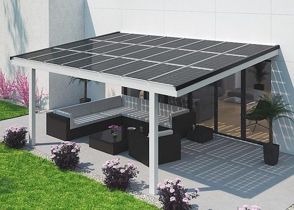 Solar Terrassendach Technik Kosten Anbieter