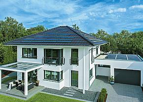 Generation 5.0/Haus 150 Von Weberhaus Ist Ein Plusenergie Holzrahmenbau Mit  Ca. 170