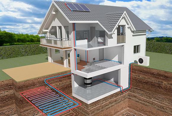 aktives und passives k hlen mit w rmepumpe. Black Bedroom Furniture Sets. Home Design Ideas