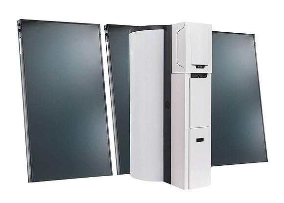 brauchwasserspeicher f r solarthermie anlagen. Black Bedroom Furniture Sets. Home Design Ideas