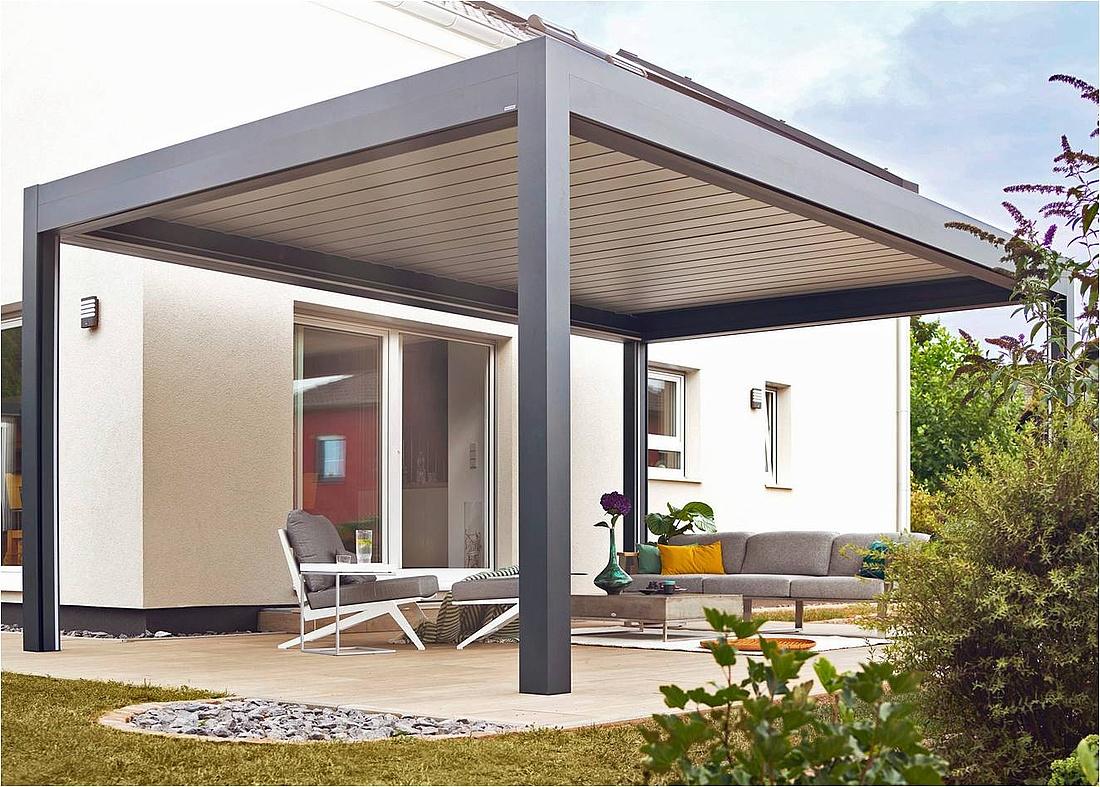 Terrassendach Baugenehmigung & Verglasung