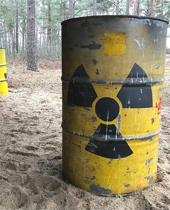 Atommüllfass