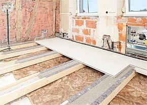 Holzfußboden Dämmung ~ Fußbodenheizungen auf holzbalkendecken verlegen