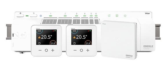 Moderne Thermostat-Regelungen für Fußbodenheizungen