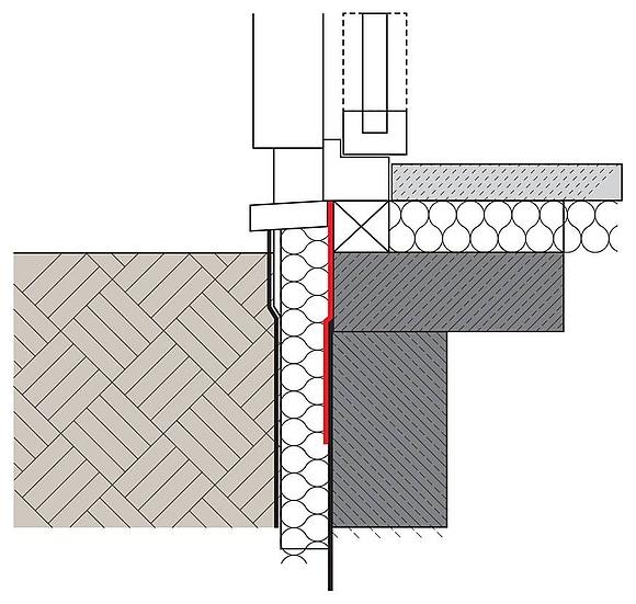 Bodentiefe fenster nachtrglich einbauen moderne mit zu einem dreieck fenstern foto verbandes - Fenster einbauen anleitung kompriband ...