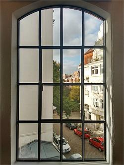 aufbau und konstruktion des stichbogenfensters. Black Bedroom Furniture Sets. Home Design Ideas