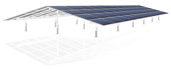 Aufständerung Photovoltaik Montagesystem Unterkonstruktion Solar Heimwerker