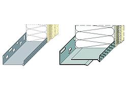 verarbeitung von sockelprofilen im wdvs. Black Bedroom Furniture Sets. Home Design Ideas