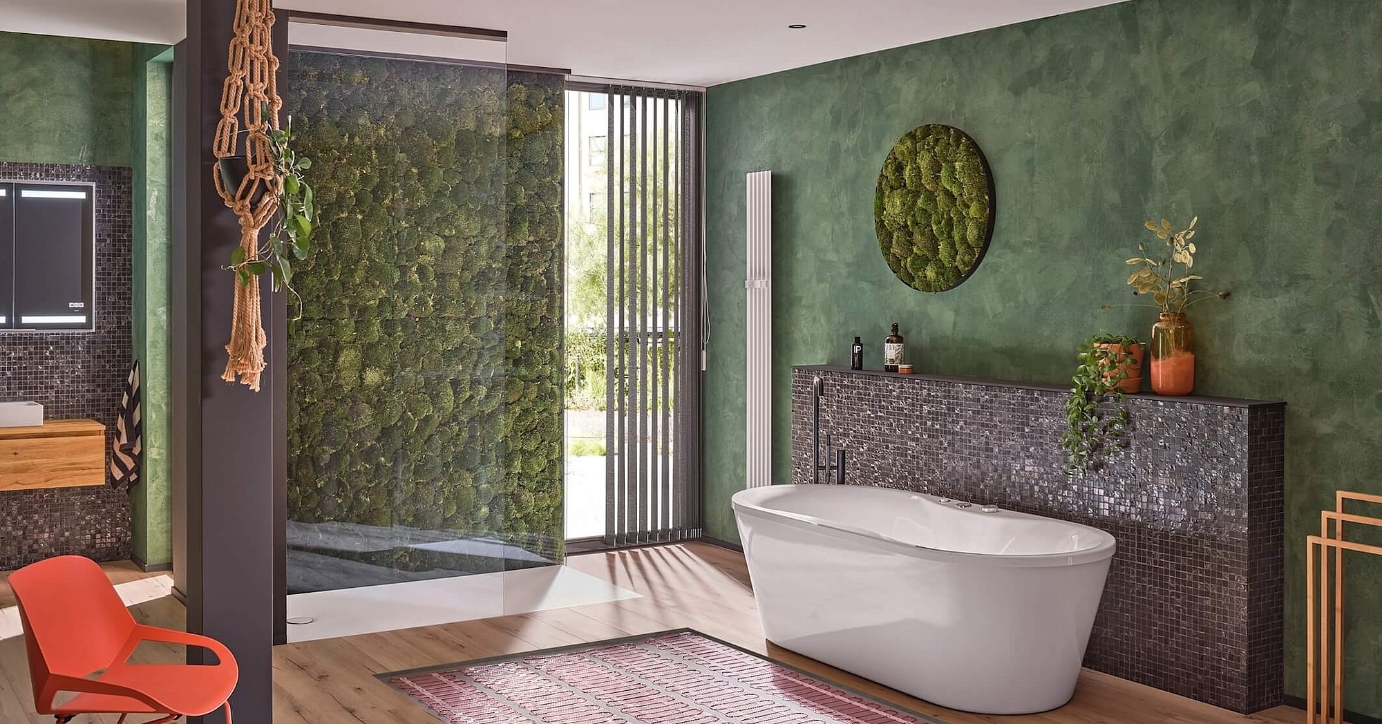 Elektrische Fußbodenheizungen fürs Bad