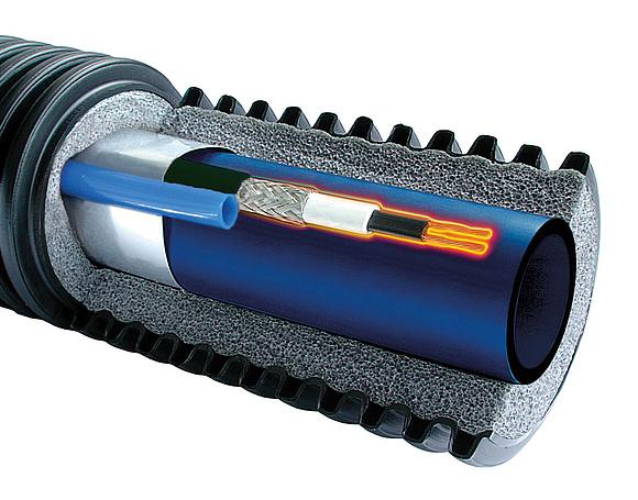Frostschutz Heizkabel Begleitheizung Dachrinnenheizung Heizleitung Rohrheizung